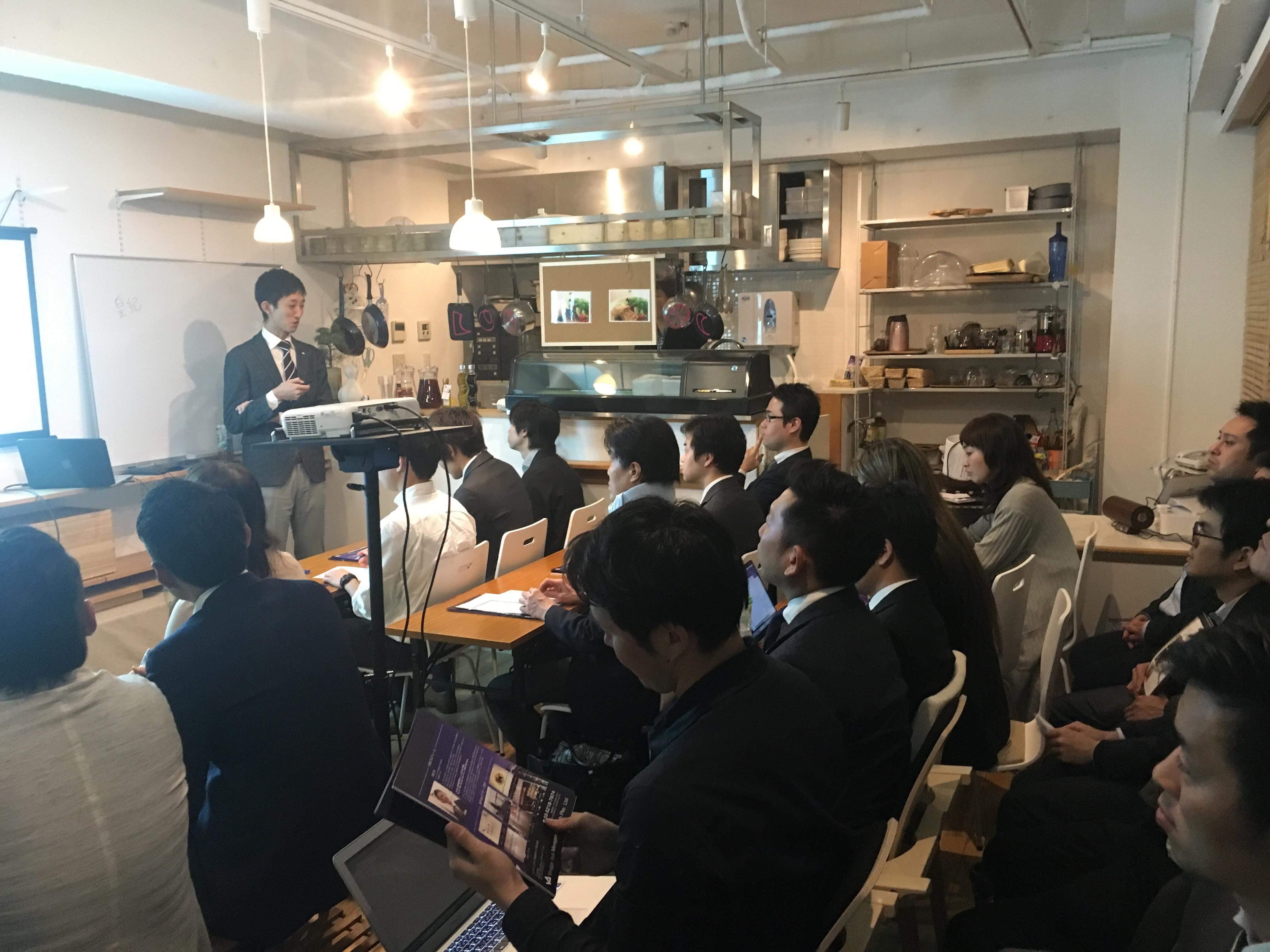 2018年4月17日 JC国際ビジネス勉強会にて講演