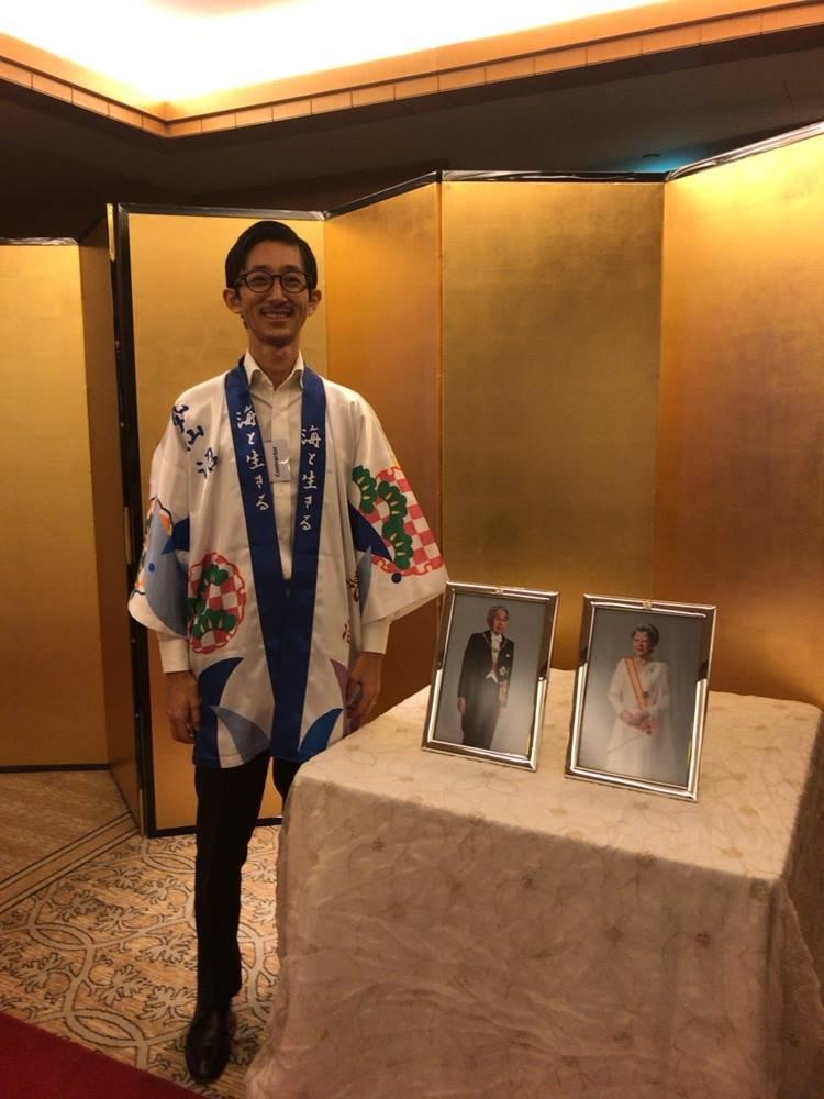 2018年12月6日 在シンガポール日本国大使館主催「天皇陛下誕生日レセプション」