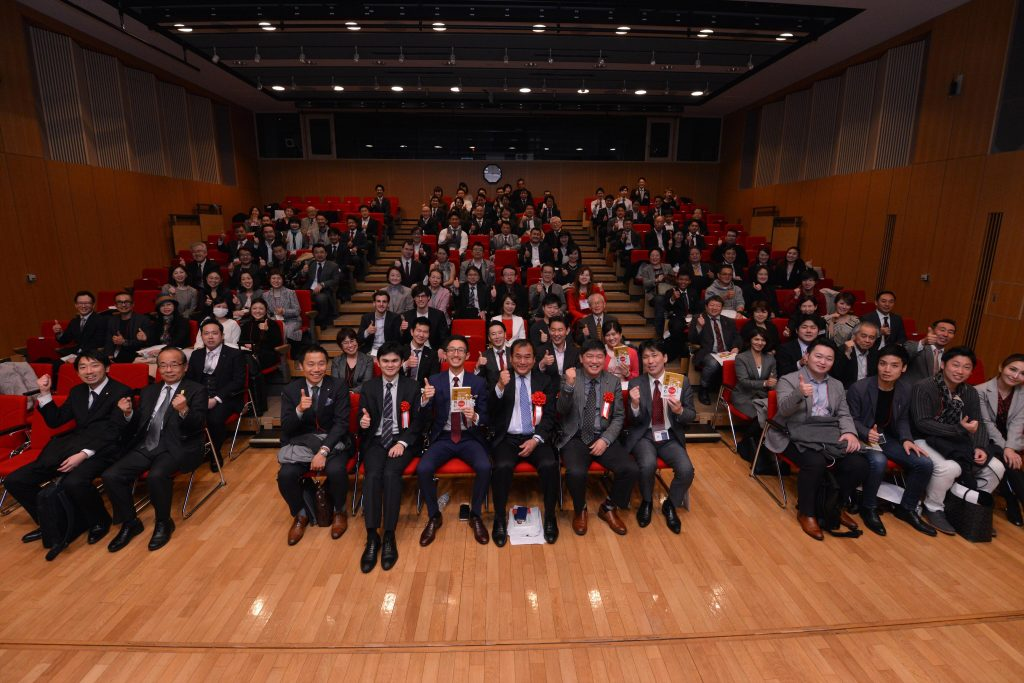 安田哲著「日本人として世界に挑む」出版記念講演会
